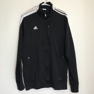 Men's Adidas AdiPure Climawear Black Track Jacket